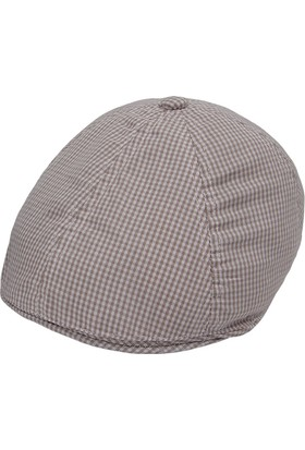 Bay Şapkacı Erkek Çocuk Kareli Kasket
