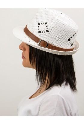 Bay Şapkacı Kadın Hasır Fötr Şapka