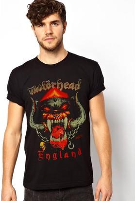 Tshirthane Motörhead Siyah T-Shirt