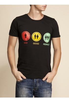 Tshirthane Bad Good Mor Espirili T-Shirt
