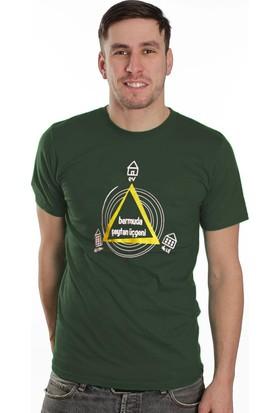 Tshirthane Bermuda Mor Espirili T-Shirt