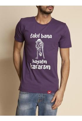 Tshirthane Takıl Bana Siyah Espirili T-Shirt