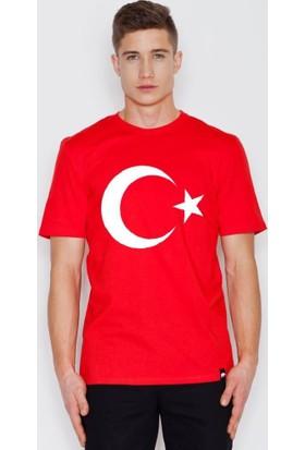 Tshirthane Türk Bayraklı Ay Yıldız Erkek Bay Türk Bayrak