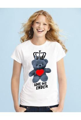 Tshirthane Love Me Ender Ekru Tshırt T-Shirt