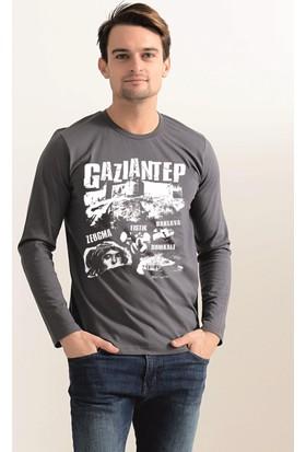 Tshirthane Gaziantep Kalesi Uzun Kollu T-Shirt