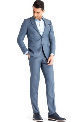 Kiğılı Kuşgözü Takım Elbise Turkuaz 124865