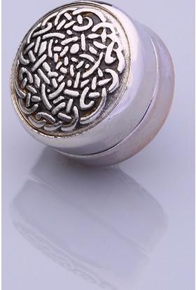 Fsg Takı Gümüş Kaplama Eşarp Mıknatısı