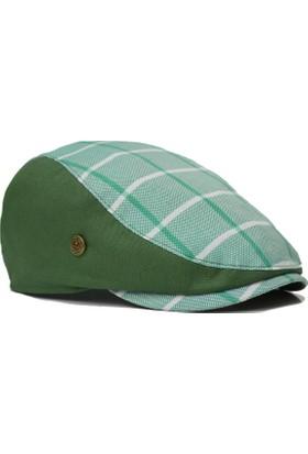 Pozze Yazlık Spor Ekoseli Erkek Kasket Şapka