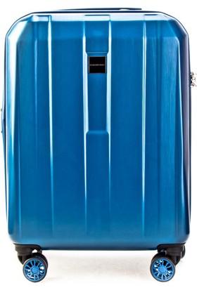 Kemeraltı Kabin Boy Günlük Valiz Mavi