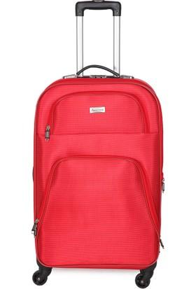 Garamond V068-B Kırmızı Unisex Valiz
