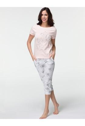 Hays Peace Kadın Penye Midi Pijama Takımı