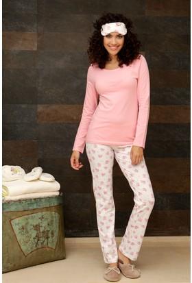 Hays Penye Kadın 2'li Uzun Pijama Takımı