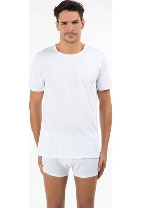 Kom 44TS10021 Hulio Erkek 2'li T-Shirt