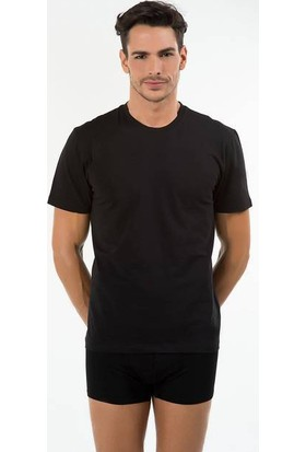 Kom 44TS10051 James Erkek 2'li T-Shirt