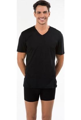 Kom Antonio V Yaka Erkek T-Shirt