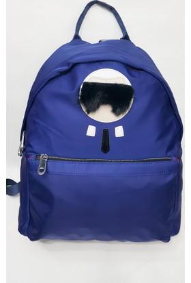 Sanal Bolluk Bayan Sırt Çanta Mavi