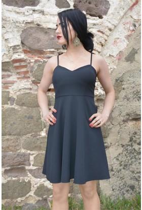 Espenica Melek Kanatlı Kısa Elbise Abiye Mezuniyet Balo Nikah Nişan Düğün Gece Elbise 3607