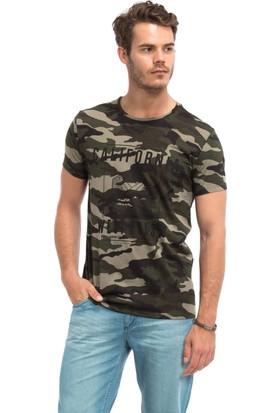 LC Waikiki Erkek Kamuflaj Desenli T-Shirt