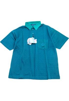 Bensu Pamuklu Cepli Polo Yaka T-Shirt 605