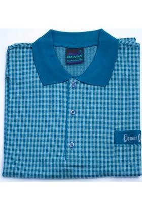 Bensu Pamuklu Cepli Polo Yaka T-Shirt 609