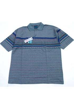 Bensu Pamuklu Cepli Polo Yaka T-Shirt 616
