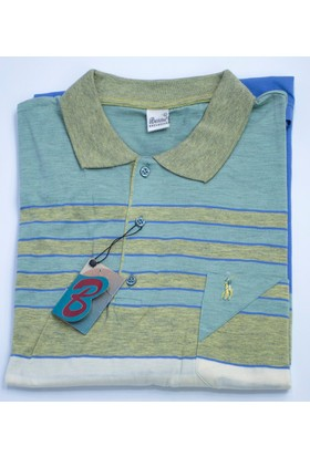 Bensu Pamuklu Cepli Polo Yaka T-Shirt 622