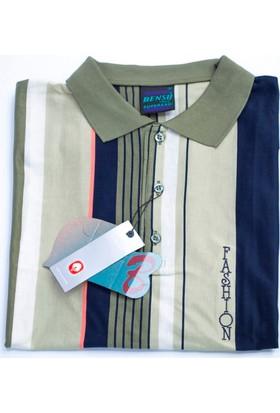 Bensu Pamuklu Polo Yaka T-Shirt 634