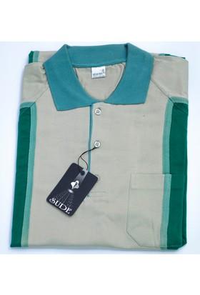Bensu Pamuklu Cepli Polo Yaka T-Shirt 644