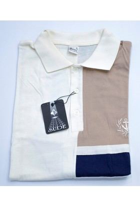 Bensu Pamuklu Polo Yaka T-Shirt 655