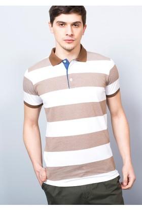 Adze Erkek Tarçın Koyu Kol T-Shirt