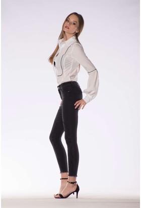 Tailor Yüksek Bel Pantolon Siyah