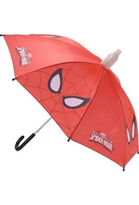 Hakan Çanta Spider-man Kırmızı Erkek Çocuk Şemsiye (88048)