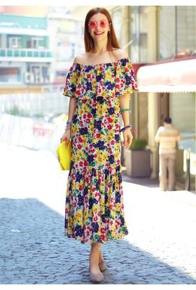 Femme Straplez Elbise