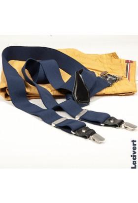 DeepSEA Lacivert Derili Erkek Pantolon Askısı 1300040-008