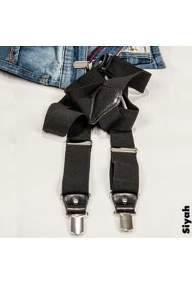DeepSEA Siyah Derili Erkek Pantolon Askısı 1300040-002