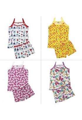 Modakids Gümüş İç Giyim Kız Çocuk İp Askılı Takım 040 4067 027