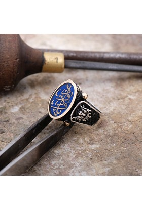 Sümer Telkari Osmanlı Armanlı El Yapımı Gümüş Kol Düğmesi 44