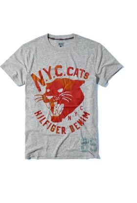 Tommy Hilfiger Bisiklet Yaka T-Shirt