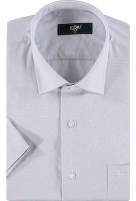 Kiğılı Kısa Kol Desenli Gömlek 7Y4Mew069Aa