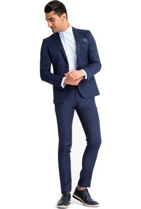 Kiğılı Kuşgözü Süper Slimfit Takım Elbise 7Y1D79D836