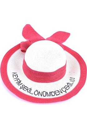 Bonalodi Keyfim Şekil Nar Renk Sloganlı Şapka