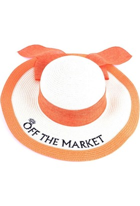 Bonalodi Off The Market Sevgilisi Olanlara Özel Turuncu Sloganlı Şapka