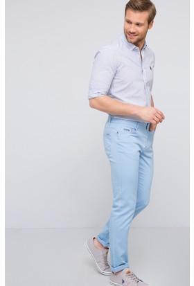 U.S. Polo Assn. Erkek Carlos7Y-Ing Jean Pantolon Mavi