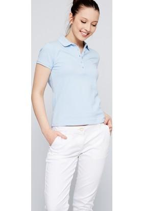 U.S. Polo Assn. Kadın Gtp-Iy07 Polo T-Shirt Açık Mavi