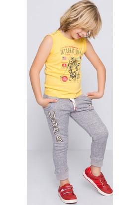 U.S. Polo Assn. Erkek Çocuk Nick T-Shirt Sarı