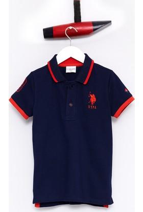 U.S. Polo Assn. Erkek Çocuk Sd01İy7 T-Shirt Lacivert