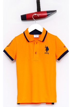 U.S. Polo Assn. Erkek Çocuk Sd01İy7 T-Shirt Turuncu