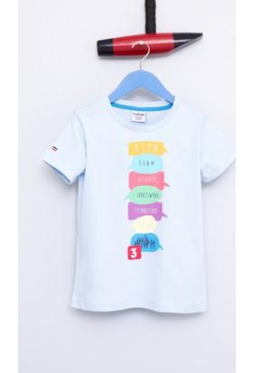 U.S. Polo Assn. Erkek Çocuk Tonia T-Shirt Açık Mavi