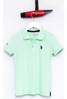 U.S. Polo Assn. Erkek Çocu TP01IY7 T-Shirt Mint