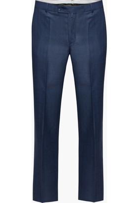 Hateko Klasik Kesim Kışlık Mavigri Kumaş Pantolon